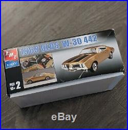 MODEL CAR KIT LOT (2 KITS) AMT ERTL 1969 OLDS & Monogram 70 Buick GSX NEW