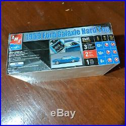 MODEL CAR KIT LOT (2 KITS) AMT ERTL 69 Ford Galaxie Hard Top & 69 Buick Riviera