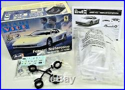 MODEL CAR LOT A (8) AMT/ERTL & REVELL 1/24 1/25 scale EXOTIC/FAST CAR kits