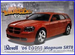 MODEL CAR LOT E (8) AMT AMT/ERTL REVELL MONOGRAM 1/24 1/25 MODEL CAR kits