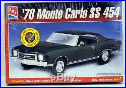 MODEL CAR LOT H (6) AMT/ERTL MONOGRAM 1/25 scale CHEVY FORD MERCURY CAR KITS