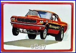 MODEL CAR LOT L (3) AMT/ERTL 1/25 FORD & SHELBY MUSTANG car kits