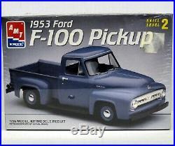 MODEL CAR LOT T (3) 1/25 AMT & REVELL MONOGRAM CHEVROLET & FORD truck kits