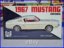 Mpc 1967 Ford Mustang Fastback 1/25 #1367-150 Amt 67 Annual Mint F/s Model Kit