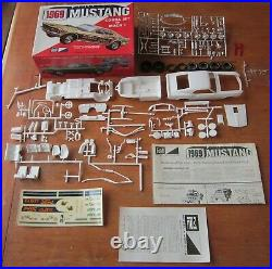 MPC 1969 Ford Mustang Mach I CJ Drag 4-in-1 Annual Kit #1369 Unbuilt in Box 69