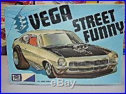 Mpc 1971 Chevrolet Vega Street Funny #1-0454-225 71 1/25 Amt Unbuilt Model Kit