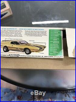 MPC 1974 DODGE CHARGER ANNUAL 3 IN 1 #1-7407-250 1/25 74 AMT Open Box Manual