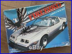 MPC 1-3081 Pontiac 10th Anniversary Firebird Rare 1/16 Scale Model Kit