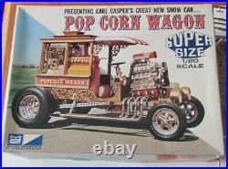 MPC Pop Corn Wagon Carl Casper Popcorn Show Rod Kit #3003 Unbuilt 1/20 1970's