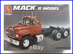 Mack R Model Truck AMT ERTL 125 Model Kit 6129 Sealed, Unbuilt in Box