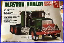 Maquette AMT 1/25 camion Kenworth Alaskan Hauler truck