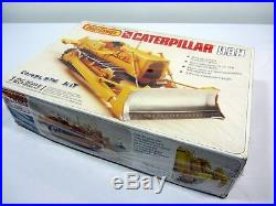 Matchbox AMT Caterpillar Yellow Dozer D8H 125 Scale Model Kit New in Open Box