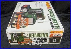 Matchbox AMT Kenworth Alaskan Hauler Model Truck Kit 1/25 Scale MINT