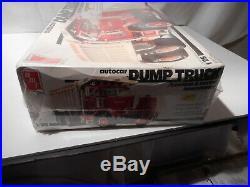 Model Semi Kit Auto Car Dump Truck