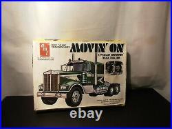 Model Semi Kit Kenworth Movin On Truck Tractor