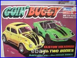 Monogram 1/16 1971 goin, buggy volkswagon&dune buggy (revell, jo-han, amt, mpc)