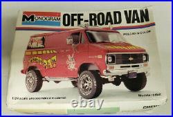 Monogram Chevy Off-Road Van The Desert Rat 1/24 Kit OPENED #2224