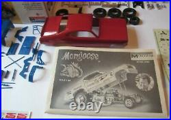 Monogram Mongoose Tom McEwen Plymouth Duster Funny Car # 6763 in Box'73 Issue