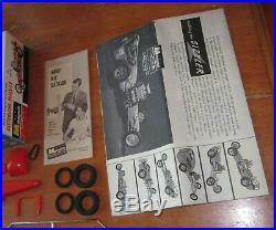 Monogram Sizzler Six Way Dragster Customizing Kit # PC65 Unbuilt 1961 Issue Drag