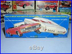 Mpc 1969 Chevrolet Impala Ss427 Convertible #469-200 69 1/25 Amt Rare Model Kit