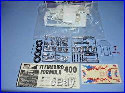 Mpc 1971 Pontiac Firebird Formula 400 Annual Kit#1-7115-200 1/25 Amt 71 Mint S/i