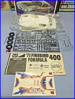 Mpc 1971 Pontiac Firebird Formula 400 Kit 1-7115-200 Amt 1/25 Complete S/i Kit