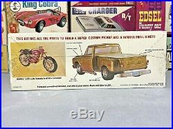 Mpc 1972 Chevrolet Step Side Pickup Kit#1-0411 Amt 1/25 Vintage F/s Model Kit