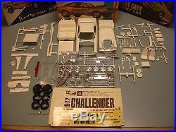 Mpc 1972 Dodge Challenger Motown Missle #1-7214-225 72 1/25 Amt Mint Unbuilt Kit