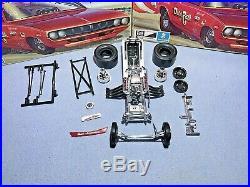 Mpc 1972 Plymouth Barracuda Dunn & Reath F/c #1-0754-250 Amt 1/25 Builder Kit