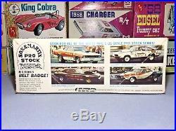 Mpc 1974 Plymouth Duster Sox & Martin Pro-stock #1-1755 1/25 Amt Unbuilt Kit