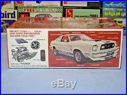 Mpc 1976 Ford Mustang Cobra II Annual 1-0773 Amt 76 1/25 Nice Factory Sealed Kit