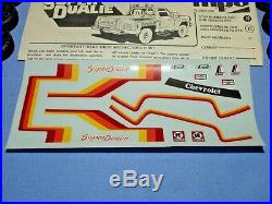 Mpc 1978 Chevy Super Dualie 6-wheeled Pickup Truck #1-0424 Amt Sealed Inside