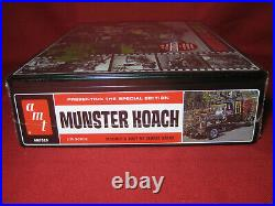 Munsters Special Deluxe Koach+Drag-u-la Metal Tin Set 1/25 AMT Kit George Barris