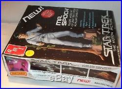 NEW Vintage ORIGINAL 1979 (NOT REISSUE) Mr. Spock AMT Model Kit SEALED BAGGIE