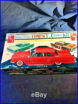 NIB Rare 1961 Vintage SMP AMT Corvair Monza Coupe 3-in-1 Model Kit Only One