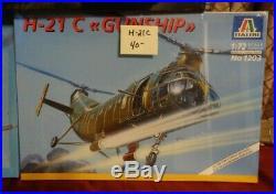 NISB 7 Vintage Military Model Plane Kits Italeri Modelcraft Revell AMT & Glencoe