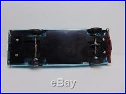NOS AMT 1967 Ford Galaxie XL 428 Fastback Frost Turquoise Promo Model Car in Box