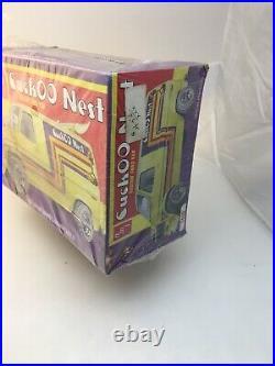 NOS Vintage 70's Cuckoo Nest Ford Van Custom NOS AMT 125 Htf Model Kit RARE