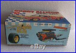 New Vintage Amt Bobby Allison Malibu Chevy 125 Model Kit #t373 Unassembled