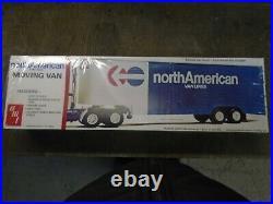New amt 5201 north american moving van trailer