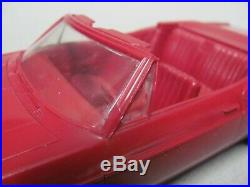 Nice AMT 1966 Chevrolet Impala SS Convertible 1/25 Scale Promo Car Regal Red