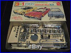 Orig Rare VTG 1960 Mercury Convertible Model/Kit AMT USA 33360 Impeccable AAA+