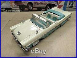 Original 1/25 Amt 1958 Ford Fairlane Convertible Sharp Adult Built Model
