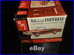 Original 1/25 Amt 1964 Chrysler Imperial Convertible