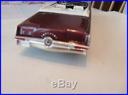 Original 1/25 Amt 1964 Chrysler Imperial Convertible Pro Built Model Kit # 6814