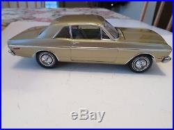 Original 1/25 Amt 1968 Ford Falcon 2 Door Pro Built Model