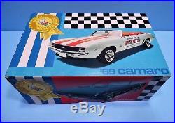 Original AMT # T333 1969 Chevrolet Camaro convertible INDIANAPOLIS 500 Pace Car