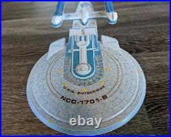 PRO BUILT 1/1000 1701 Enterprise B FULL AZTEC Prop model Replica Star Trek