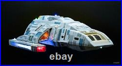 PRO BUILT 1/32 Star Trek DS9 Rio Grande Runabout 2T Model with LED lights