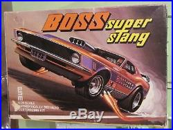 PSM Boss Super Stang Palmer Ford Mustang Drag Funny Car 1/25 Kit #332 Unblt 1970